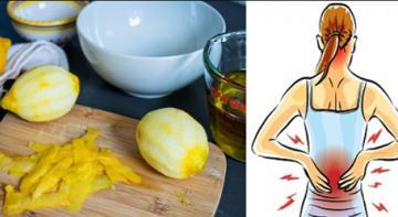 Цедра лимона может избавить от боли в суставах. Вот, как ее использовать