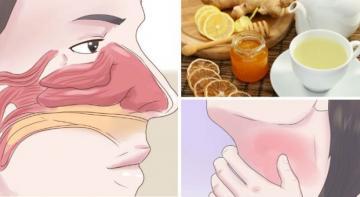 3 легких рецепта напитков, которые очищают синусы и мгновенно уничтожают воспаление горла!
